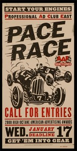 Pace Race Poster